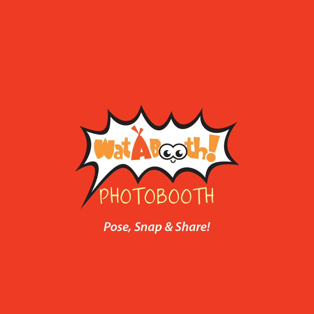 Wat-A-Booth! Photobooth Logo by ambdesignsph