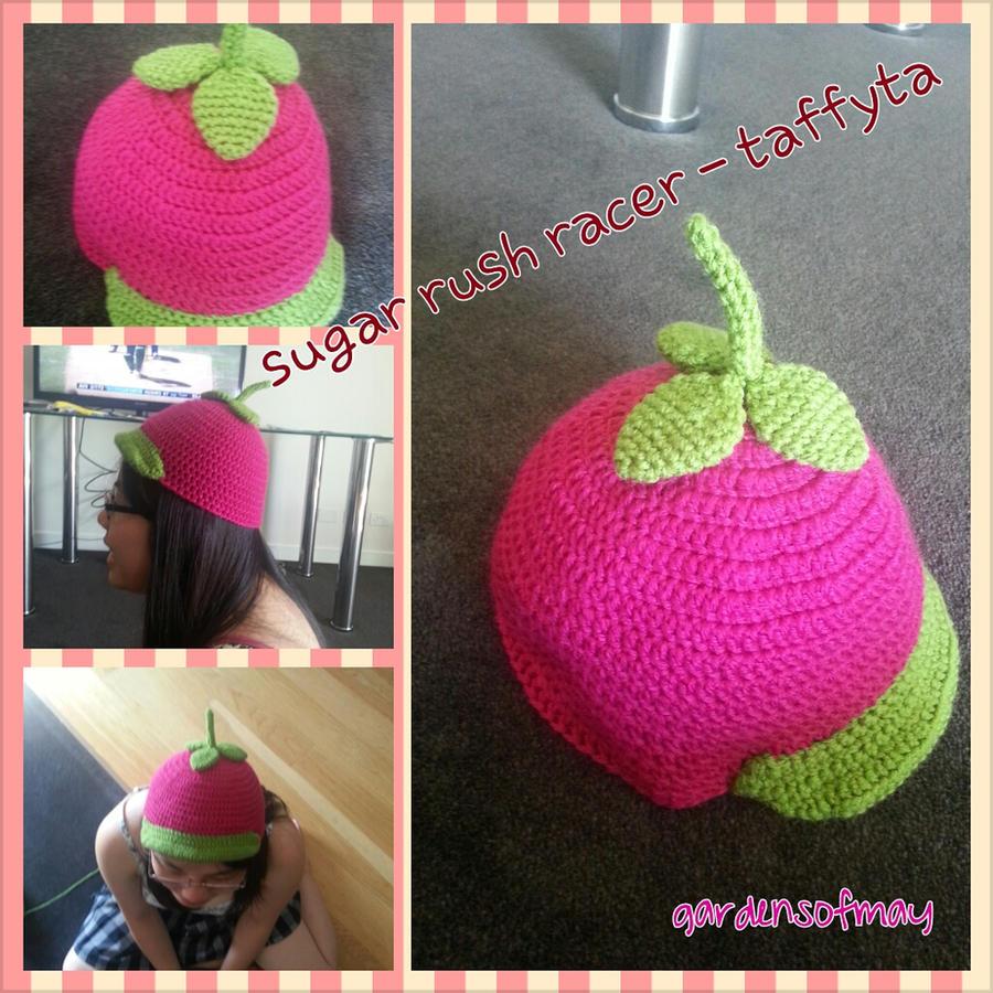 Sugar Rush racer - Taffyta Hat by gardensofmay