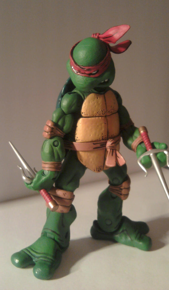 TMNT Neca Teenage Mutant Ninja Turtles Raphael by Diceeno ...