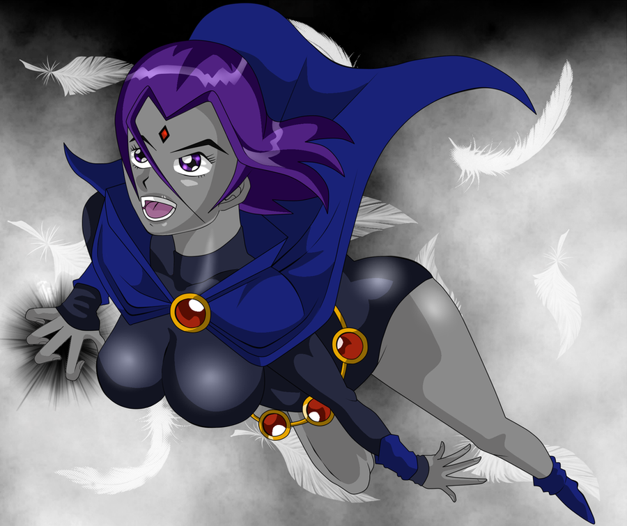 Naked Raven From Teen Titans - Teenage Sex Quizes-7265