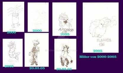 Die Ersten Zeichnungen, Abgezeichnet