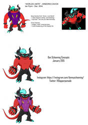 Unused Worlds Unite Concepts - Armored Zavok