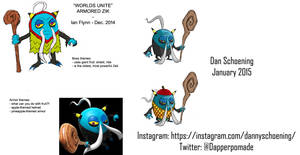 Unused Worlds Unite Concepts - Armored Zik