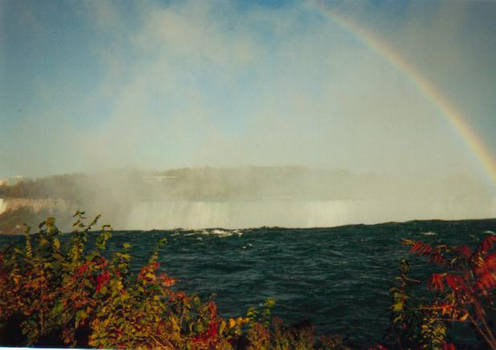 Rainbow over Niagra