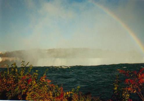 Rainbow over Niagra
