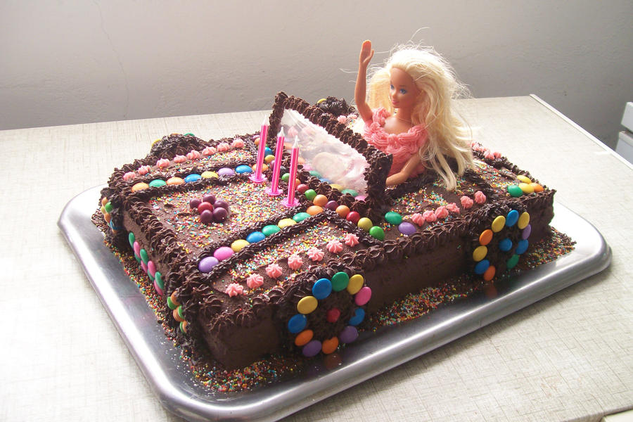 Barbie Car Cake By Hendrinam On Deviantart