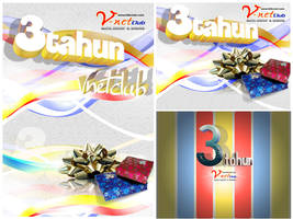 Vnet Ultah 3 by spiderio