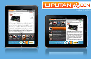 Liputan6.com Ipad Apps Mockup by spiderio