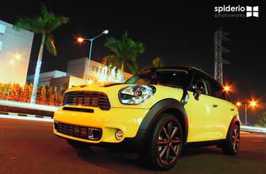 Mini Cooper at Senayan City