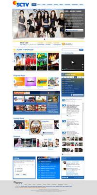 SCTV.co.id - 2012 - First Mockup