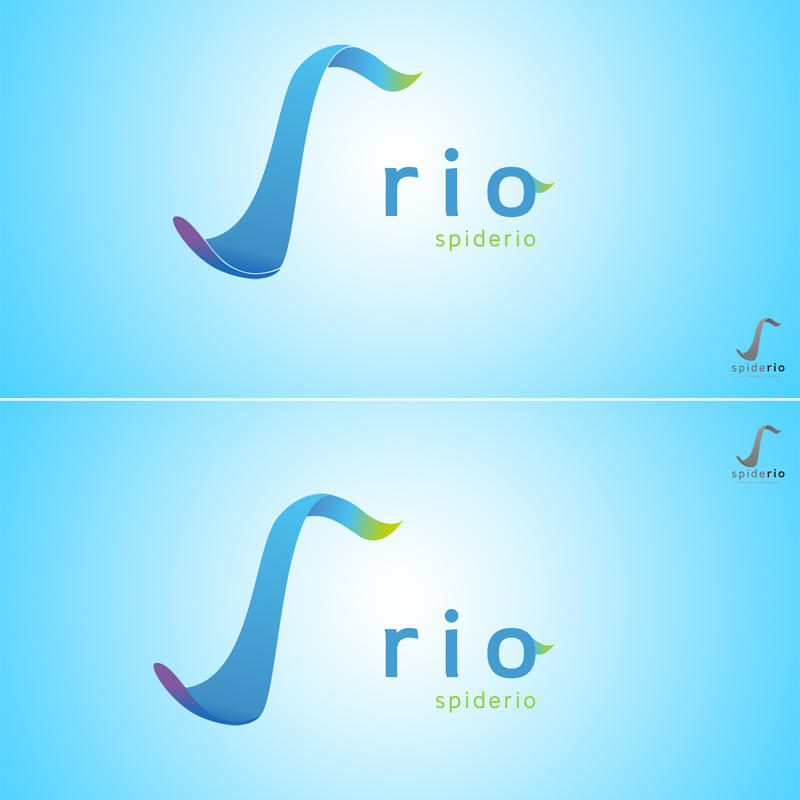 Draft 2. My new Logo Rio by spiderio