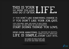 The Holstee Manifesto Wallpaper by spiderio