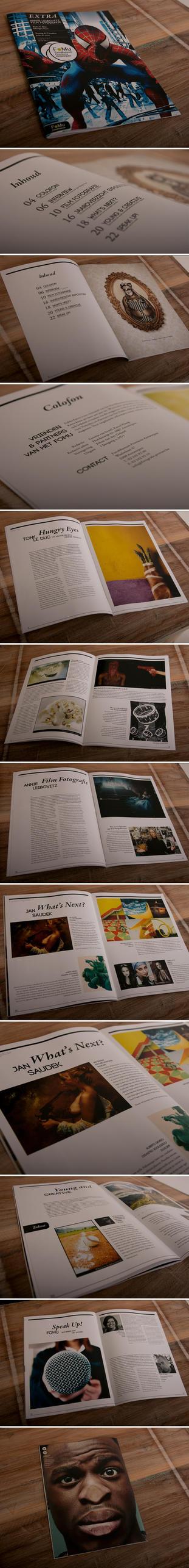 Fomu Magazine concept by buttervlieg