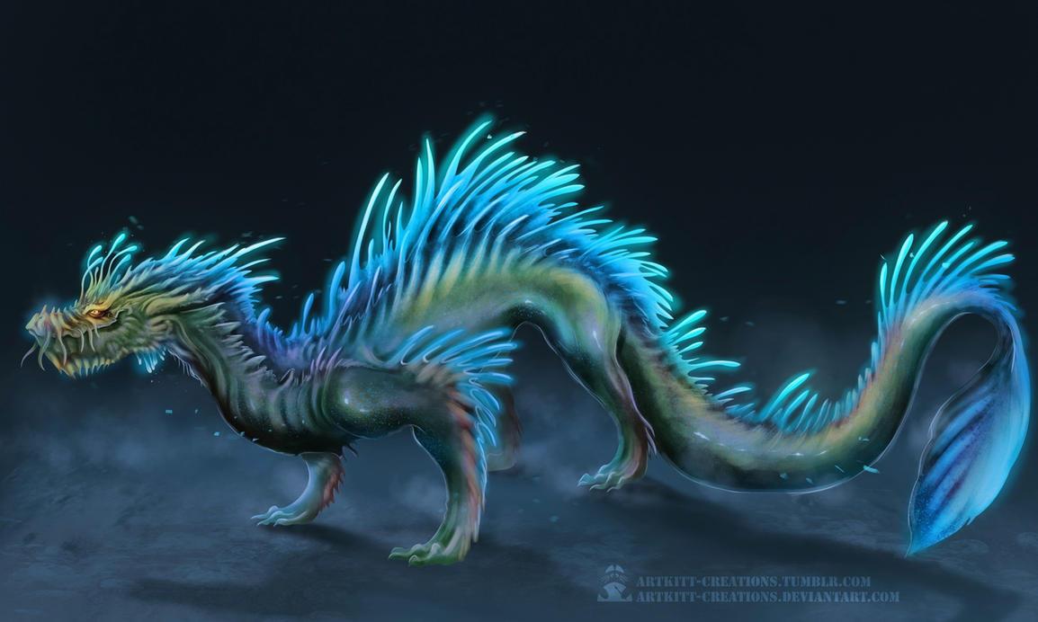 Water Dragon by ArtKitt-Creations on DeviantArt