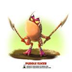 Tribal Frogs 02 - Puddle Slicer