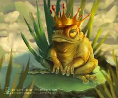 Pond King by ArtKitt-Creations