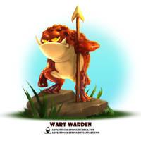 Tribal Frogs 04 - Wart Warden by ArtKitt-Creations