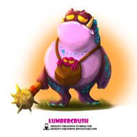 Tribal Frogs 05 - Lumbercrush by ArtKitt-Creations