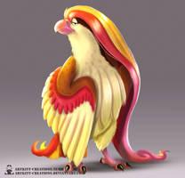 Kanto -  Pidgeot by ArtKitt-Creations