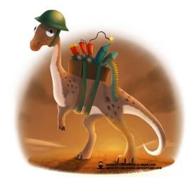 Pun Dinos - Ammosaurus by ArtKitt-Creations