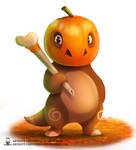 Pokectober - Pumpkinbone