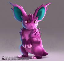 Kanto - Nidoran (male) by ArtKitt-Creations