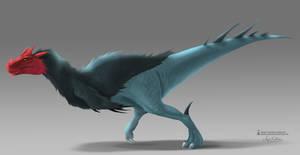 Concept - Theropod Dinosaur