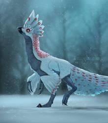 Peacock Raptor by ArtKitt-Creations