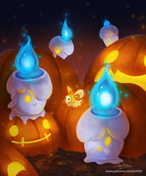 Litwick Halloween