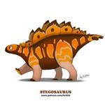 Sweet Dinos: Stegosaurus