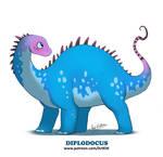 Sweet Dinos: Diplodocus