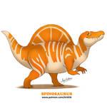 Sweet Dinos: Spinosaurus