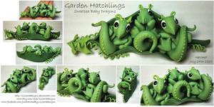Garden Hatchlings - Sweetpea Dragons