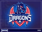 Downer Groves Dragons (Sports Dragon Logo)