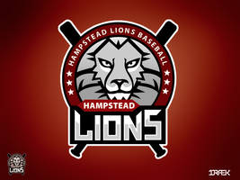 Hampstead Lions Logo by Draekdesign