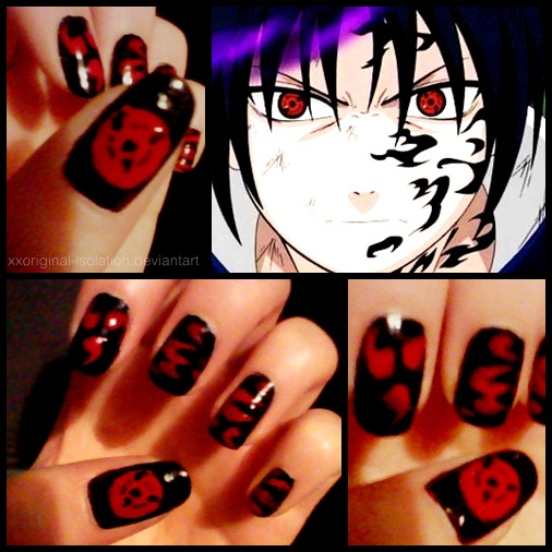 Nails - Sasuke by thatcoldmask