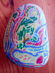 Painted Stone by chris5565