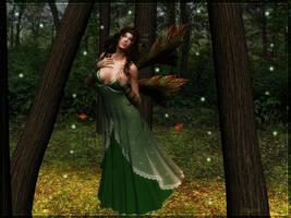 Forest Fairy by Lillyanna-Windmane