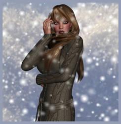 Baby it's cold by Lillyanna-Windmane