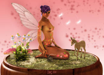 Dark Onyx Fairy by Lillyanna-Windmane