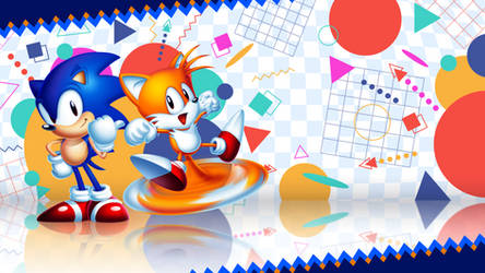 By the Fans, For the Fans - Sonic 2 HD wallpaper by Corral-Summer