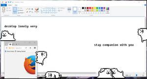 Annoying Dog Undertale Shimeji by EnderoftheEnd