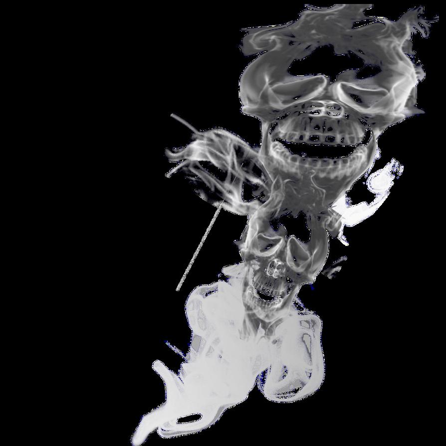 double skull smoke png transparant 5 by cakkocem on deviantart