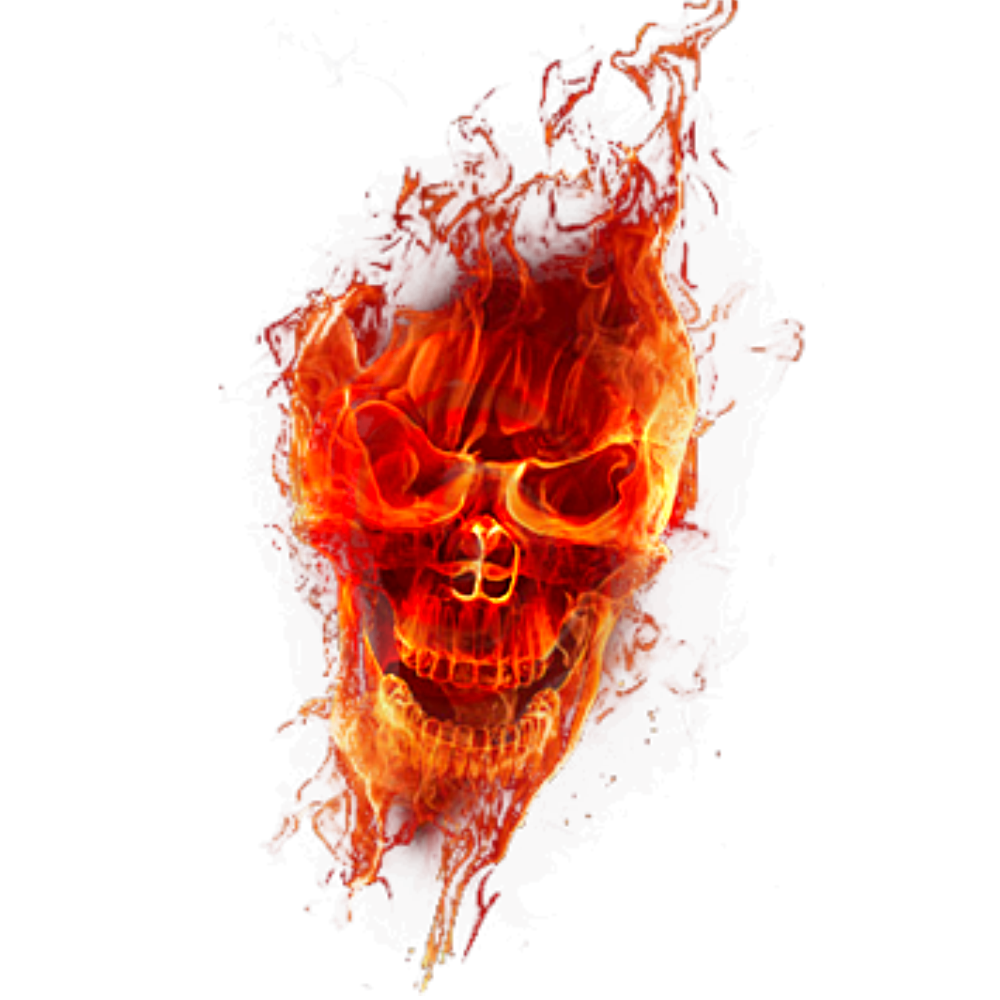 fire skull png transparant 1 by Cakkocem on DeviantArt