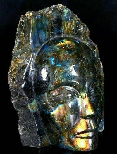Labradorite sculpture by cakkocem on deviantart