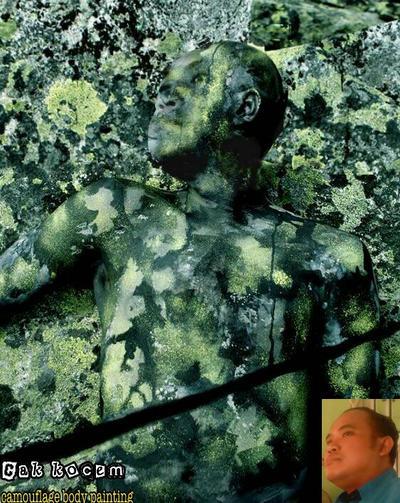 Self Stunning Camouflage Body Painting Manipulatio By Cakkocem On Deviantart