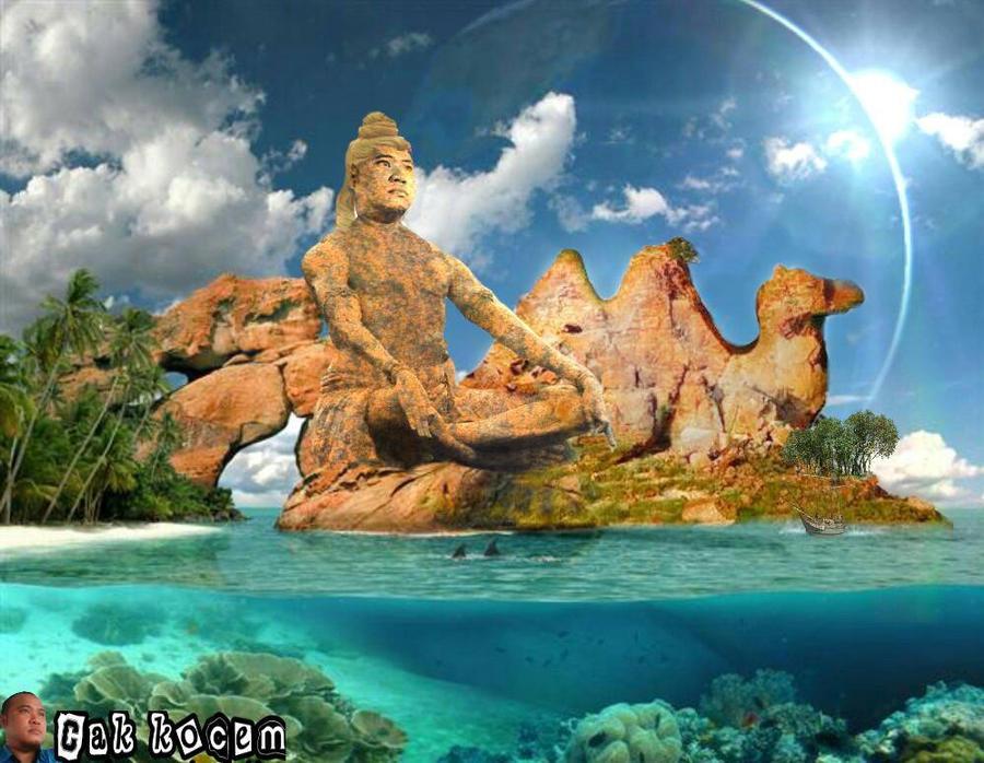 camel rock island by Cakkocem