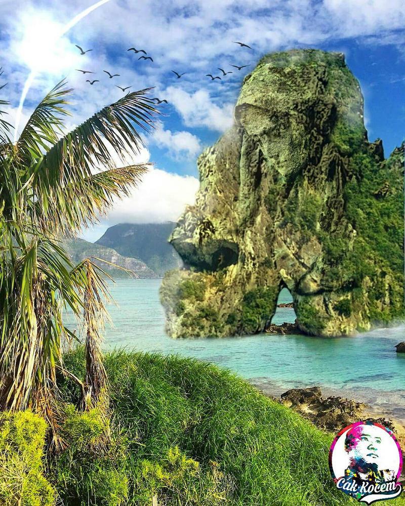 fantasy island by Cakkocem