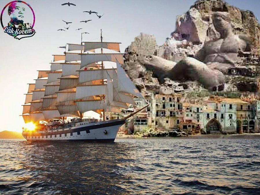the ship by Cakkocem