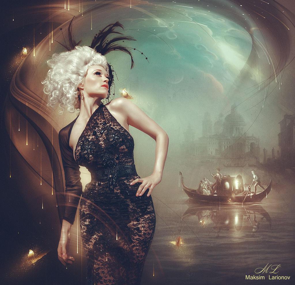 Girls-in-Venice-6 by Maksim-Larionov